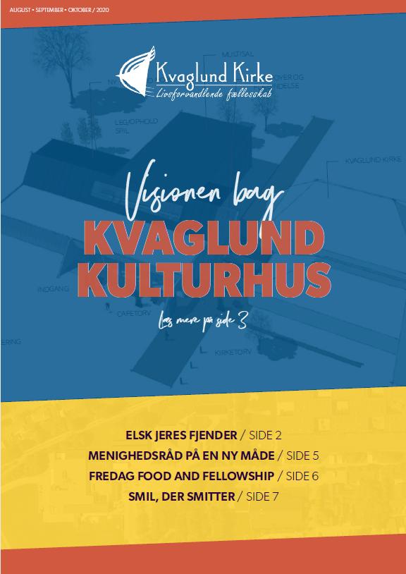 Forside af Kirkebladet august til oktober 2020.