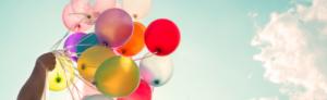 Dekorativt billede - billede af balloner