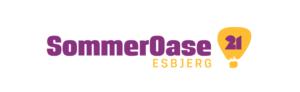 """Billede med tekst """"SommerOase Esbjerg 21"""""""